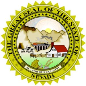 the seal of Nevada